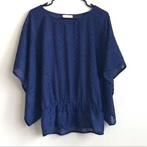 SugarLips lace top with dolman sleeves size XS